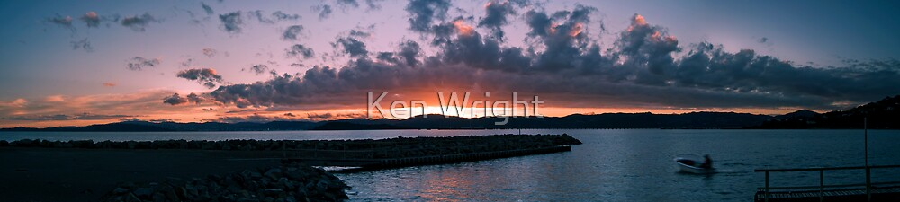 Returning home by Ken Wright