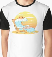 WAVE ON THE BEACH Graphic T-Shirt
