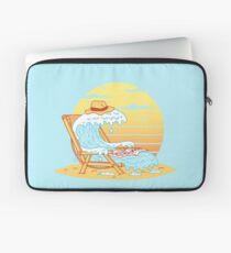 WAVE ON THE BEACH Housse de laptop