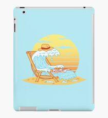 WAVE ON THE BEACH Coque et skin iPad