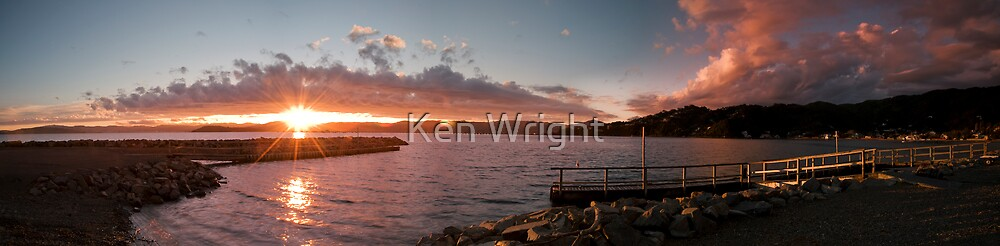 Lowry Sunset strip by Ken Wright