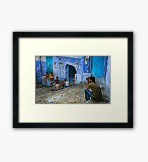 Children of Chaouen Framed Print