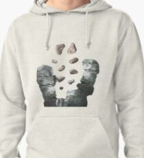 Silver Canyon (Lite) - ohms' Custom Worms Armageddon Level Pullover Hoodie