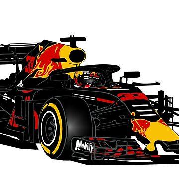 Formula 1 - Verstappen  by Port-Stevens