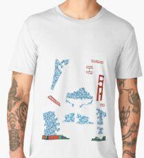 Snowmageddon - ohms' Custom Worms Armageddon Level Men's Premium T-Shirt