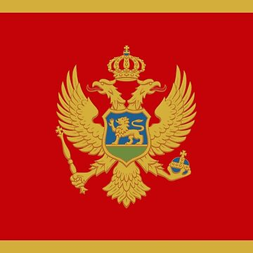 Montenegro - National Flag - Current by CrankyOldDude