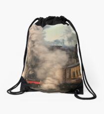 Just a load of hot air Drawstring Bag