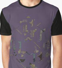 Ziggurat Vertigo Megamap - ohms' Custom Worms Armageddon Level Graphic T-Shirt