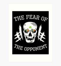 Irish MMA Ireland - Fear of the opponent  Art Print