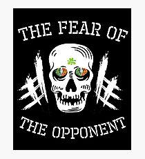 Irish MMA Ireland - Fear of the opponent  Photographic Print