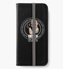 I love MMA Mixed Martial Arts iPhone Wallet/Case/Skin
