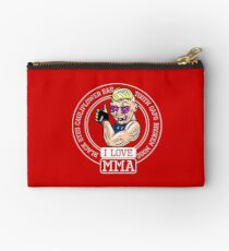 I love MMA Mixed Martial Arts Studio Pouch