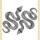Snake Zentangle by jnpdesign999