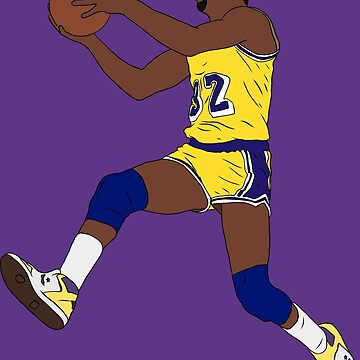 Magic Johnson Layup by RatTrapTees
