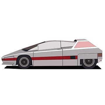 Alpha Romeo Retro future car by VeliborRajin