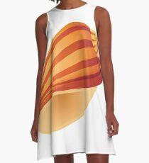 shell A-Line Dress