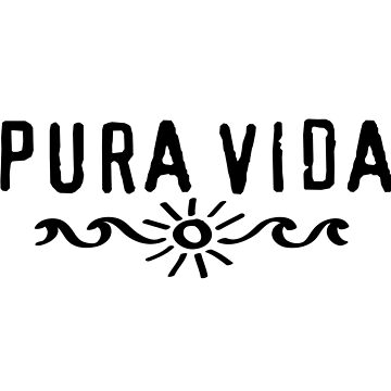 Pura Vida Sun Waves Surf by boom-art