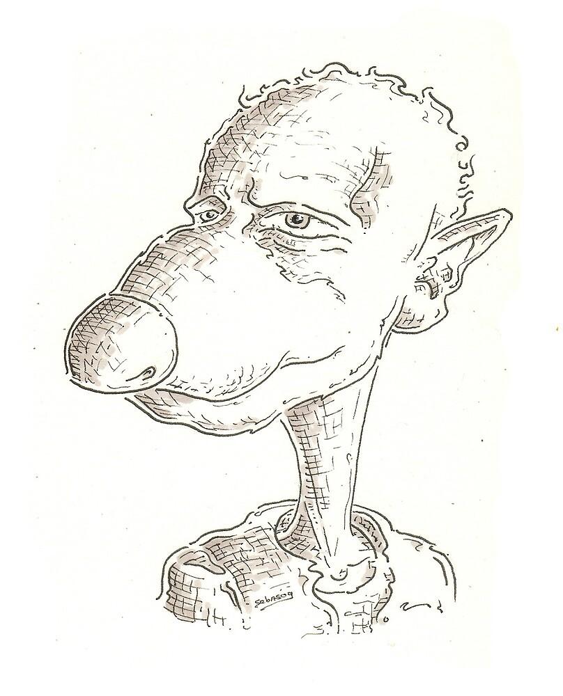 Children's book character by Sebastiaan Koenen