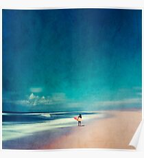 Summer Days - Going Surfing Poster