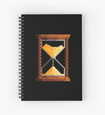 hourglass Spiral Notebook
