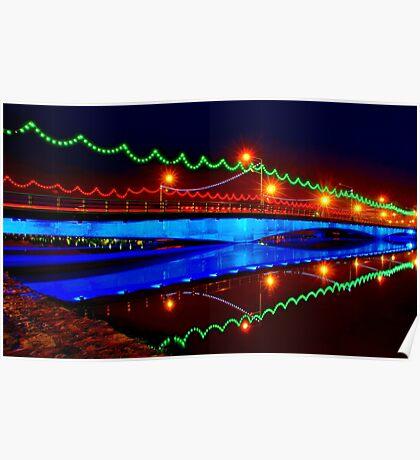Ferdowsi Bridge - Isfahan - Iran Poster