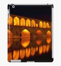 Si-o-Seh Pol (Bridge) - Isfahan - Iran iPad Case/Skin