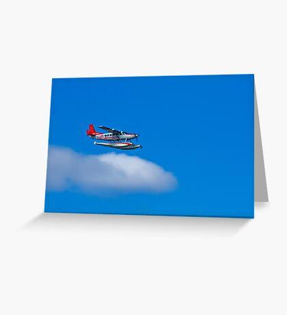 See Sea Plane - Sydney - Australia Greeting Card