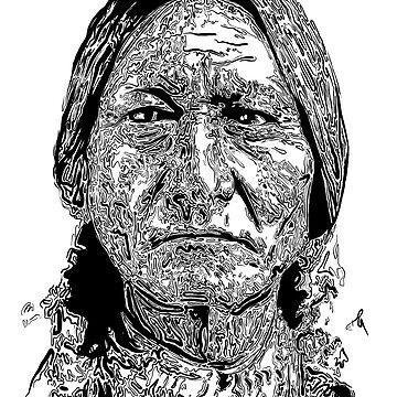 Sitting Bull Portrait - Native Indian by Chocodole