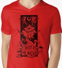 No Rest for the Wicked Men's V-Neck T-Shirt