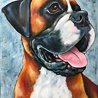 Boxer by StephanieGerace