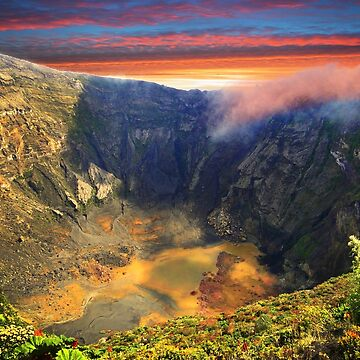 Irazu Volcano Crater - Costa Rica III by alabca