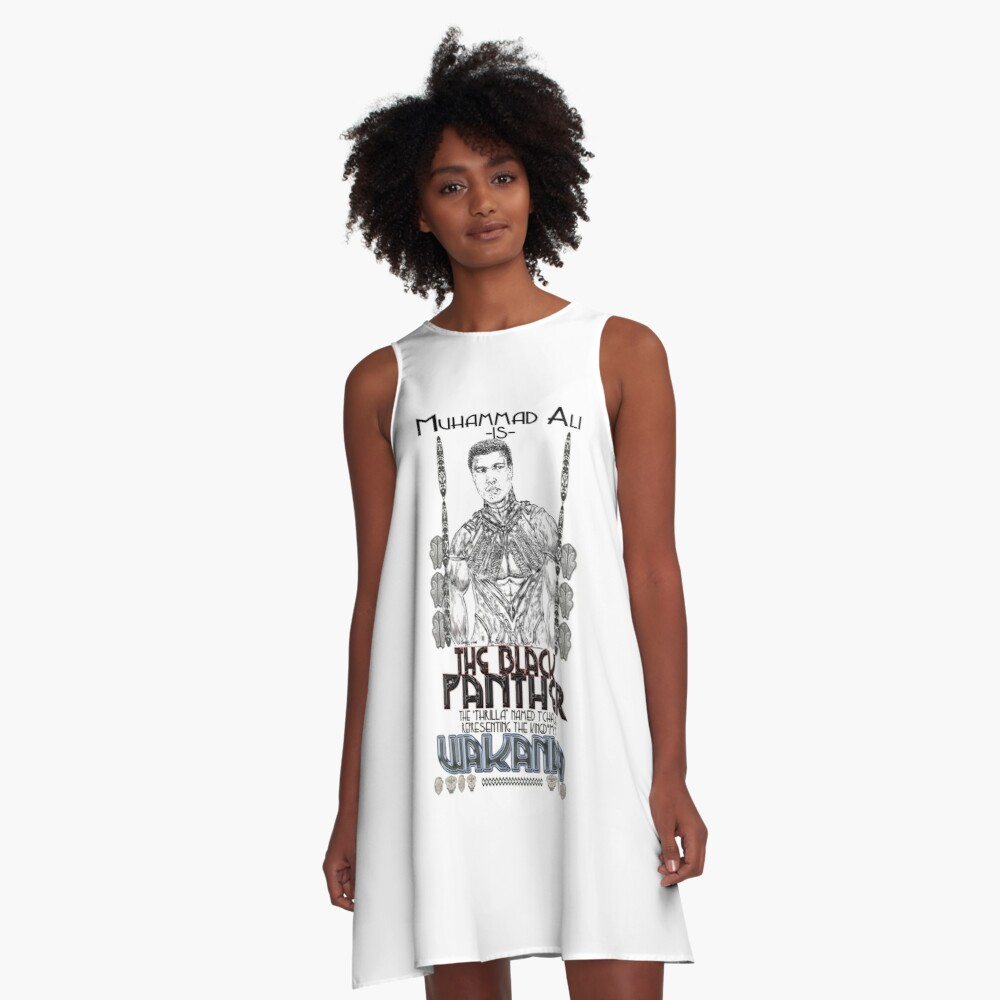 The Champ is Still THE KING!!! A-Line Dress