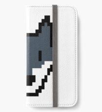 Pixel Wolf Video Game Vintage Retro Gifts iPhone Wallet/Case/Skin