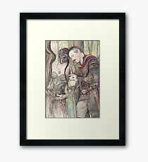 Torgil and Dulcamara Warrior Framed Print