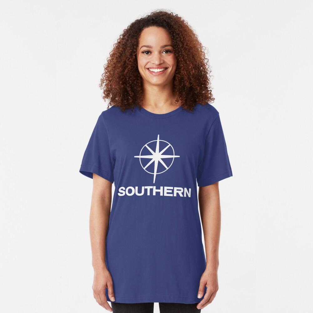 Southern Television, ITV regional logo Slim Fit T-Shirt