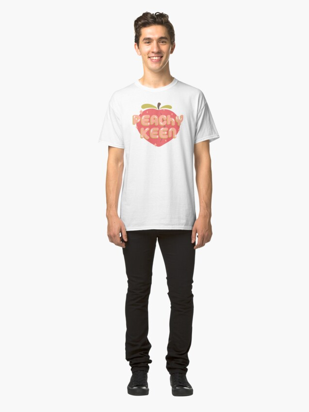 Alternate view of Peachy Keen Classic T-Shirt