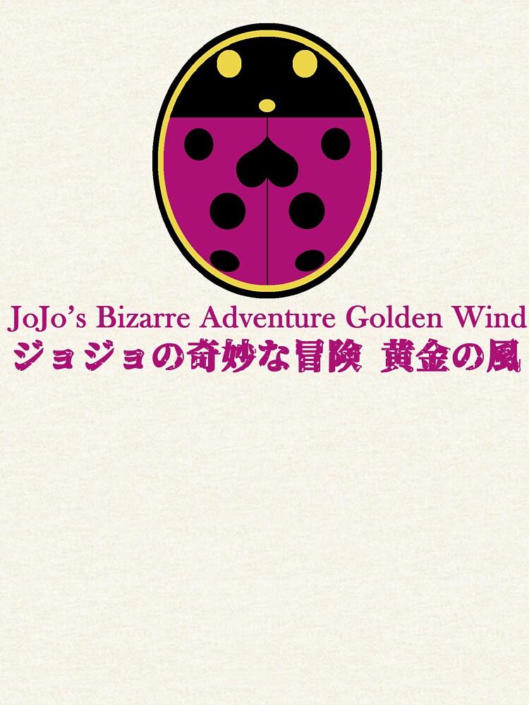 JoJos bizarres Abenteuer - Goldener Wind Marienkäfer von JackTheCreature