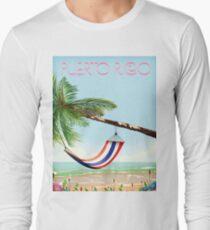 puerto rico hammock beach poster Long Sleeve T-Shirt