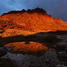 All Fired Up Too - Cradle Mountain Tasmania by Mark Shean