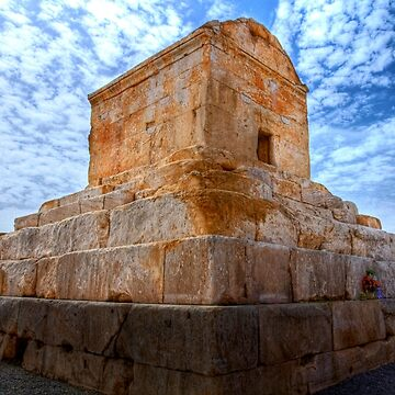 The Tomb of Cyrus The Great - Iran by BryanFreeman