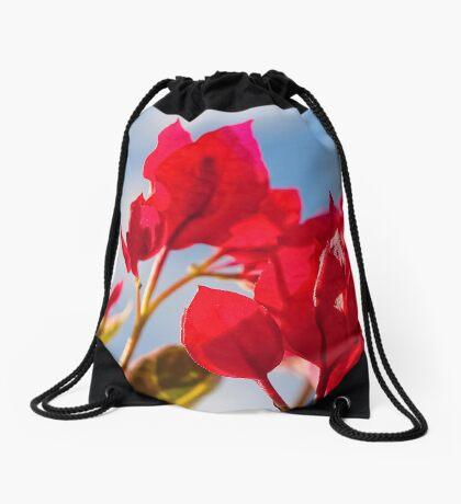 Bougainvillea Drawstring Bag