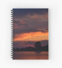 Ocean City Sunset Spiral Notebook