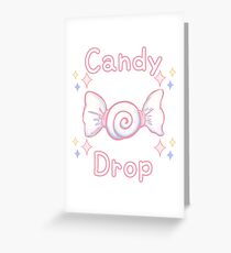 Candy Drop Sparkle - 2018 Greeting Card