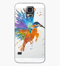 Kingfisher in Flight Case/Skin for Samsung Galaxy