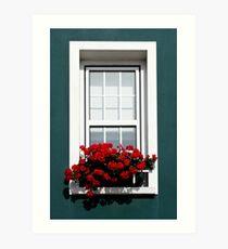 Gorey Window Art Print