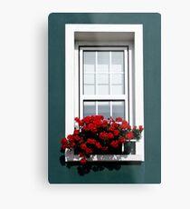 Gorey Window Metal Print