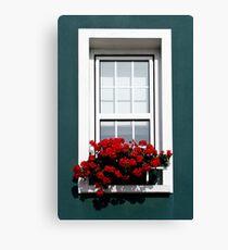 Gorey Window Canvas Print