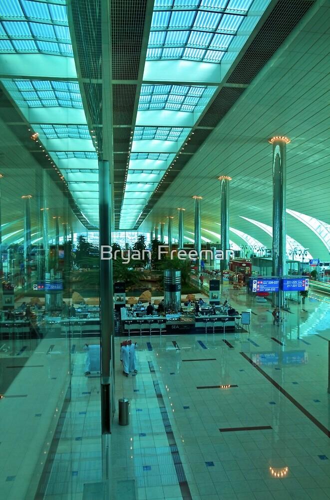 Dubai International Airport Terminal by Bryan Freeman