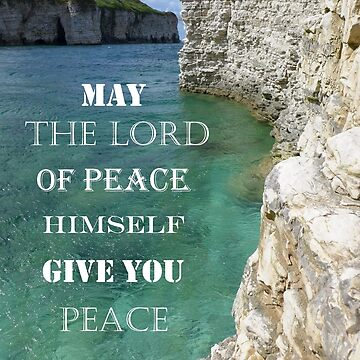 Peace 2 Thessalonians 3 : 16 by AnnaMyerscough