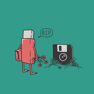 RIP floppy by gotoup